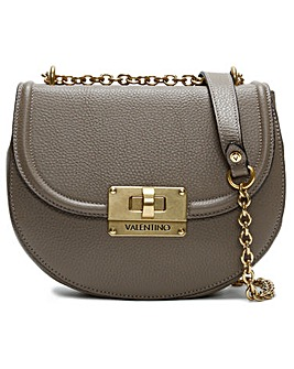 Valentino By Mario Valentino Chicago Special Grainy Leather Satchel Bag