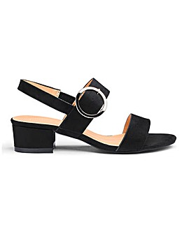 Isabel Low Block Heel Sandal Extra Wide