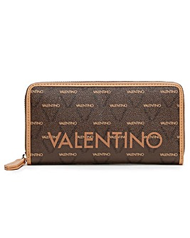 Mario Valentino Liuto Zip Around Wallet