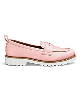 Keisha Chunky Loafer Wide Fit