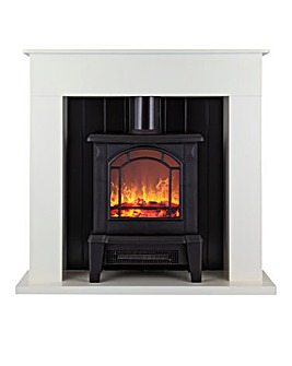 Warmlite Ealing Compact Stove Fire Suite