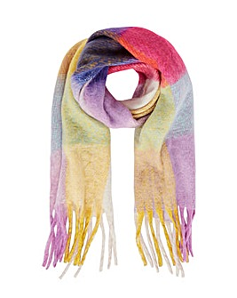 Accessorize SUPER FLUFFY STRIPE SCARF