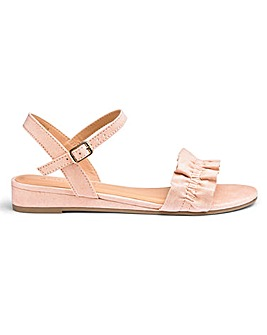 Tammie Low Wedge Sandal Wide E Fit