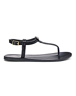 Valerie Basic Toepost Sandal Wide E Fit