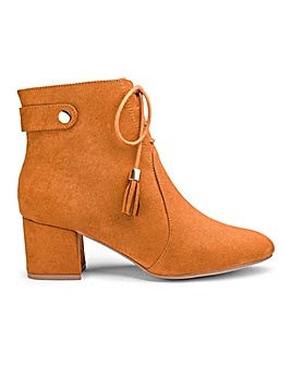 Joe Browns Tassel Ankle Boot Wide Fit