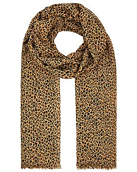 Accessorize DITSY LEOPARD PRINT SCARF