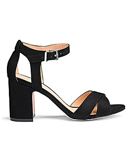 Helen Mid Block Heels Extra Wide EEE Fit