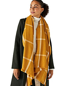 Accessorize SUNNY  CHECK BLANKET
