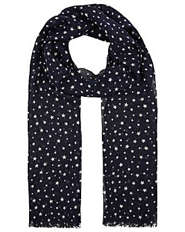 Accessorize OPP STAR PRINT SCARF