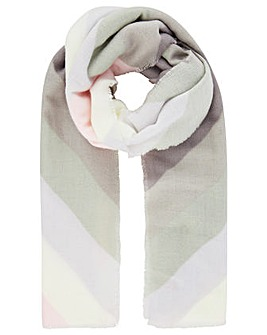 Accessorize PASTEL CHEVRON BLANKET