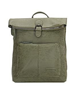 Enrico Benetti Noumea Zip Split Handle Backpack
