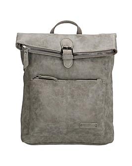 Enrico Benetti Noumea Zip Split Handle Backpack