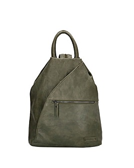 Enrico Benetti Caen Zip Split Handle Backpack