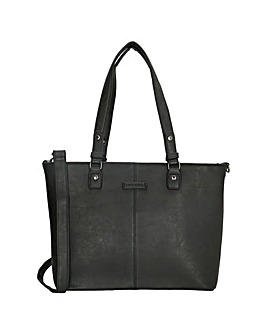 Enrico Benetti Kate 2 Handle Faux Leather Shoulderbag