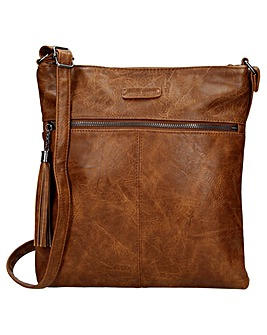 Enrico Benetti Caen Single Handle Faux Leather Shoulderbag