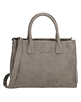 Enrico Benetti Metz Large Faux Leather Handbag