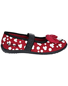 Minnie Mouse Mary Jane Slip On Shoe