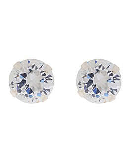 Accessorize Sterling Silver Bling Stud