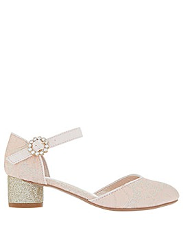 Monsoon Ally Jacquard 2 Part Jazz Shoe