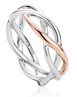 Clogau Eternal Love Weave Ring
