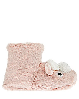 Monsoon Lisa Llama Slipper Boot