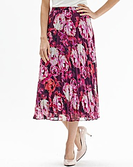 Pleated Skirt Length 32in