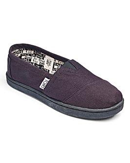 Toms Junior Classic Canvas Shoes