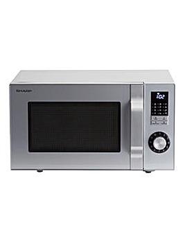 Sharp R244SLM 23L 900W Silver Microwave