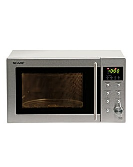 Sharp R28STM 23Litre 800W Stainless Steel Microwave