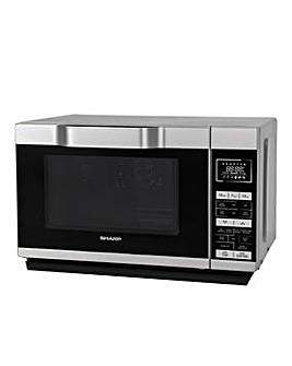 Sharp 900W Flat Tray Combi Microwave