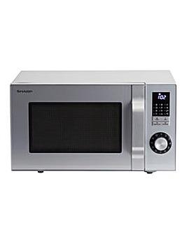 Sharp R344SLM 25L 900W Silver Microwave