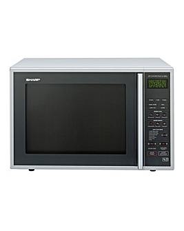 Sharp 900W Silver Combination Microwave