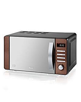 Swan SM22090COPN 800W Copper Microwave