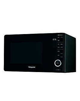 Hotpoint 800W Black Microwave with Grill