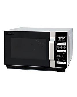 Sharp 900W 25L Silver Microwave