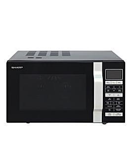 Sharp R860KM 25L 900W Black Microwave