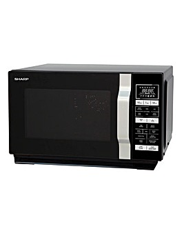 Sharp 900W Black Combination Microwave