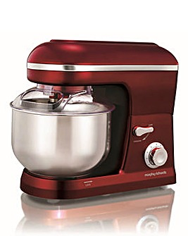 Morphy Richards Evoke Red Stand Mixer