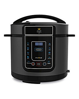 Pressure King Pro 5 Litre Black Cooker
