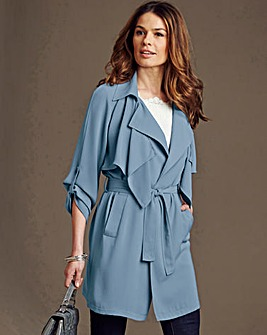 Nightingales Soft Trench Style Jacket