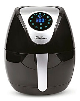 Power PAFBKT 3.2Litre Black Air Fryer XL