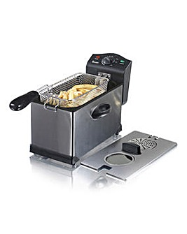 Swan 3 Litre Stainless Steel Deep Fat Fryer