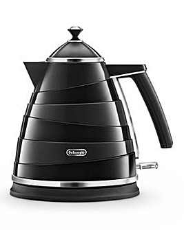 Delonghi Avvolta Black Kettle