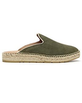 Daniel Invoke Suede Backless Espadrilles