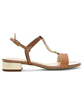 Daniel Loella Leather Strappy Sandals