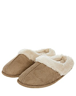 Accessorize Suedette Mule Slipper