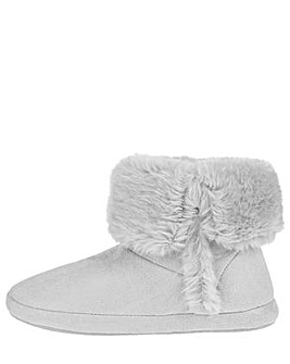 Accessorize Suedette Slipper Boot