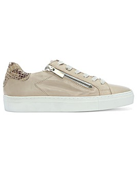 Daniel Malinas Leather Contrast Trainers