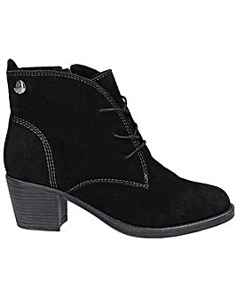 Hush Puppies Moscow Laced Heel Boot