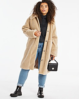 Vero Moda 3/4 Teddy Coat